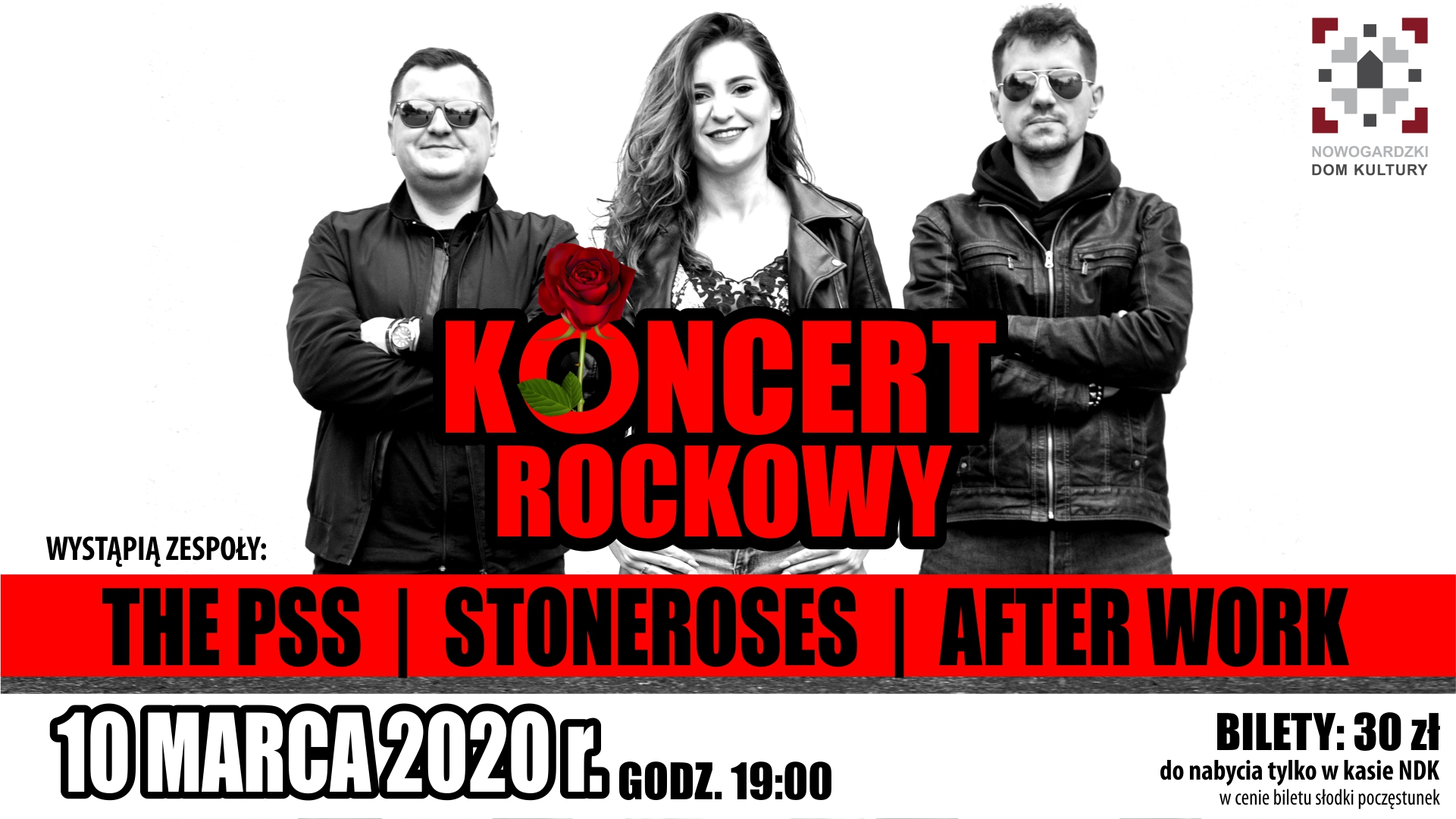 KONCERT | THE PSS, STONEROSES oraz AFTER WORK!